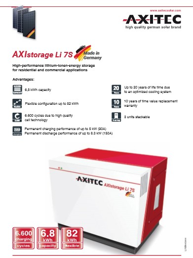 AXIstorage