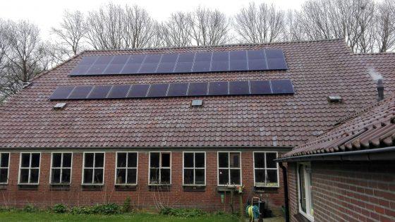 Spier 36 solar frontier zonnepanelen