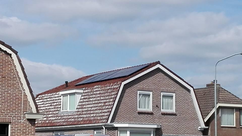 Beilen, 24 Solar Frontier panelen met SolarEdge