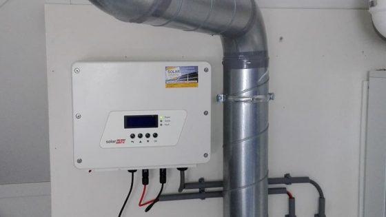 SolarEdge omvormer inclusief monitoring